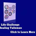 Life Challenge Miracle Grid Healing Talisman