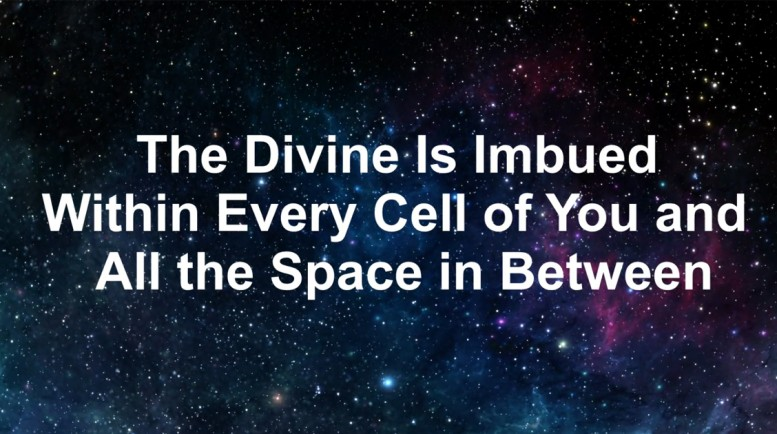 The Divine Inspires us have faith