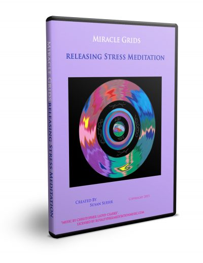 Releasing Stress one of best guided meditation videos at the Miracle Grids Shop