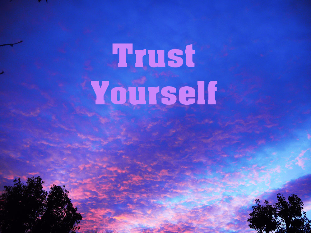 self trust