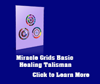 Healing Talisman from miracle grids